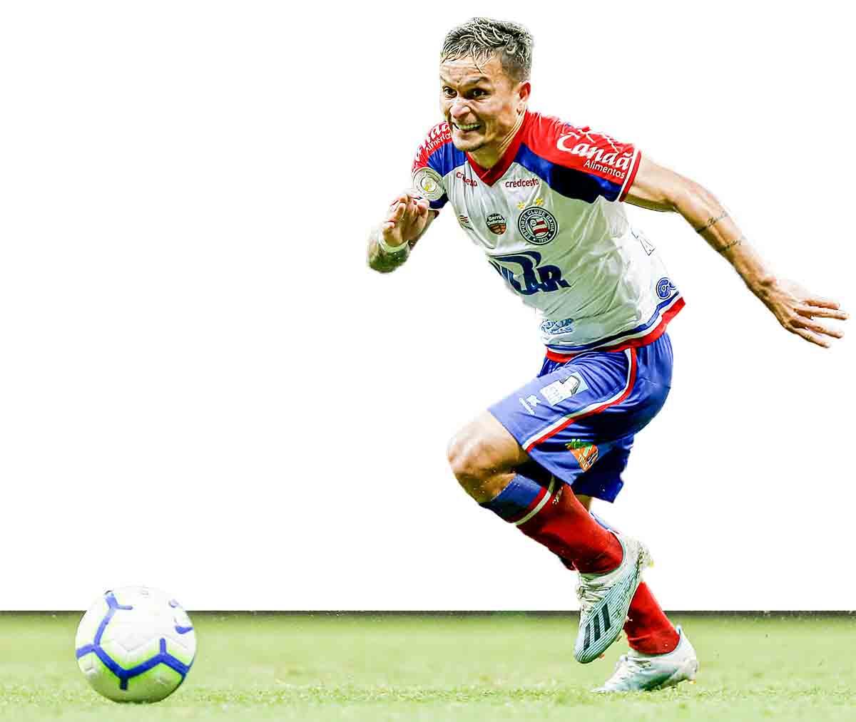 Artur, que pertence ao Palmeiras e estava no Bahia no Brasileirão pode chegar ao Bragantino em 2020