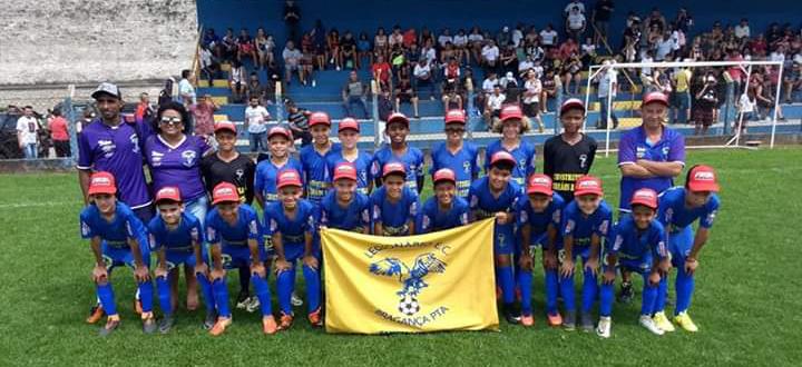 Equipe do Legionário Sub-11, que conquistou o título ao vencer o Chute Inicial | Bruno Mendes