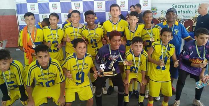 O Sub-13 conquistou o título diante do maior rival, o Ferroviários | Bruno Mendes