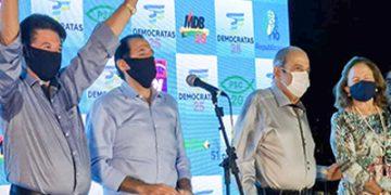 Jesus Chedid e Amauri Sodré, pelo DEM tentam reeleição |  Redes sociais DEM Bragança