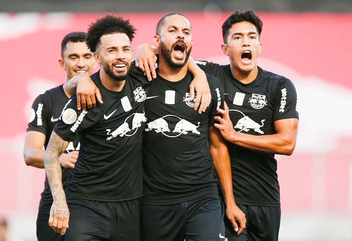 Com gols de Ytalo e Claudinho, Braga venceu o Goiás por 2 a 0 no Nabizão   Ari Ferreira/RB Bragantino