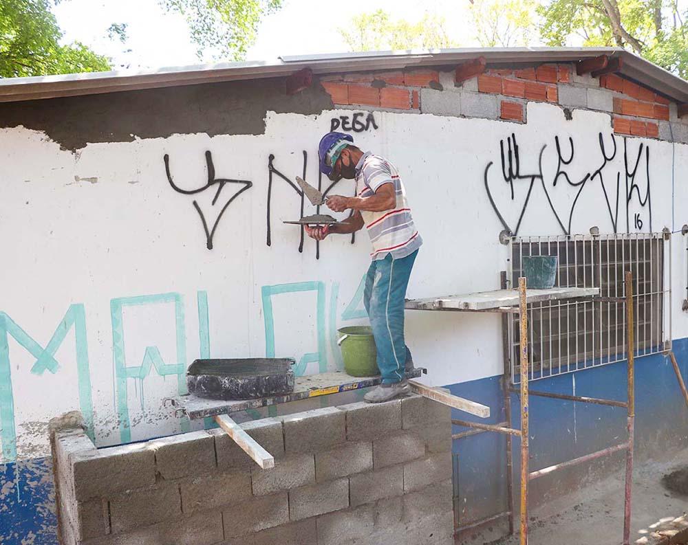 Obras do EACS São Vicente | SECOM